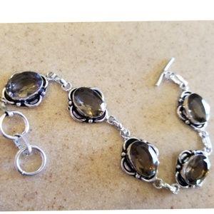 """Jewelry - Smokey Topaz Bracelet 8"""""""
